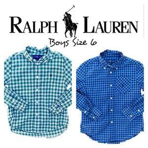 Boys Ralph Lauren Button Down